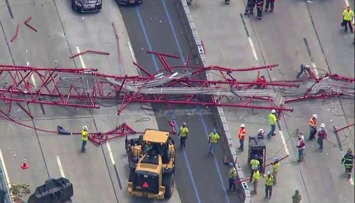 crane collapse on Tappan Zee Bridge-Netmarkers