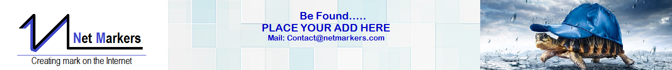 Netmarkers- Creating a Mark on the Internet
