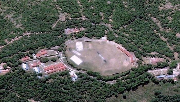Highest cricket ground