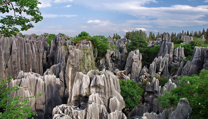 The Stone Forest in China