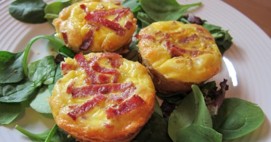 Bacon asparagus mini quiches-Netmarkers