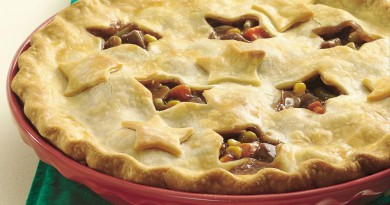 Beef pot pie-Netmarkers