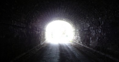 bright light from tunnel-Netmarkers