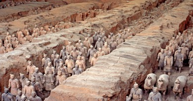 Mausoleum of the First Qin Emperor, China-Netmarkers