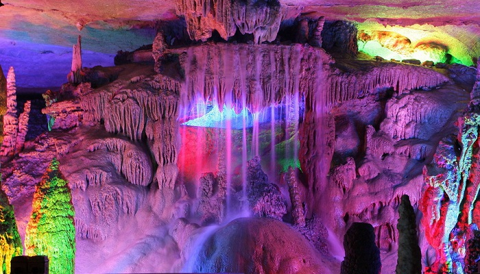 Reed Flute Cave, China-Netmarkers