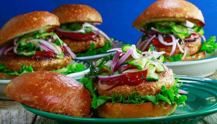 Sriracha Turkey Burger-Netmarkers