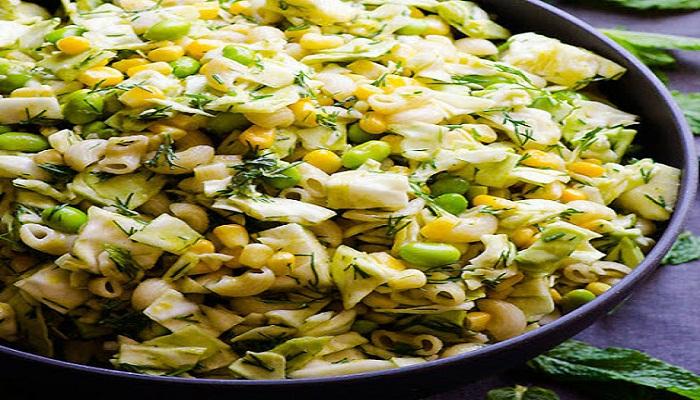 Avocado pasta with fresh corn-Netmarkers