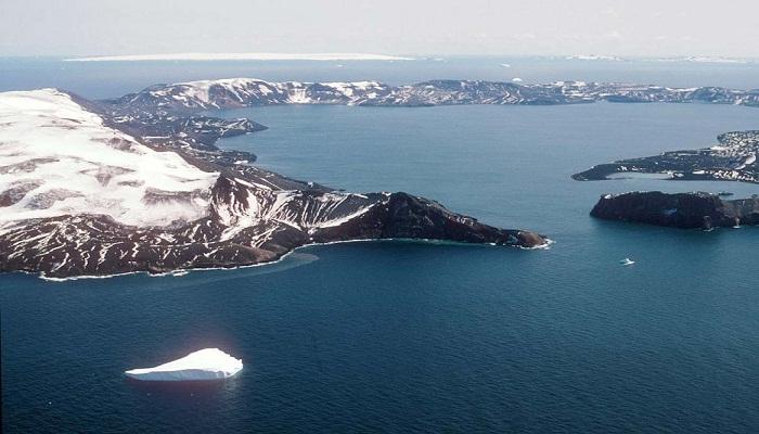 Deception Island, Antarctica-Netmarkers