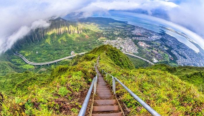 Haiku Stairs, Hawaii-Netmarkers