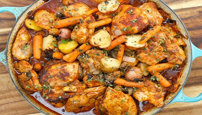 One Pan Vegetables and Chicken-Netmarkers