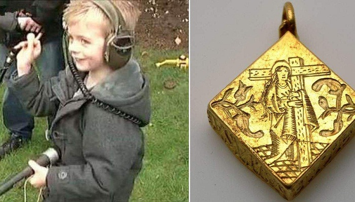 gold found by kid-Netmarkers
