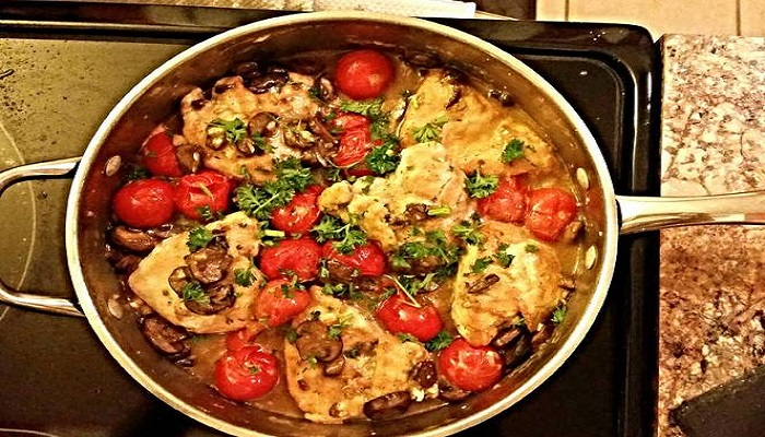 Drunken chicken marsala with tomatoes Recipe-Netmarkers