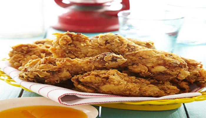 Fried Chicken with Mango–Red Chile Honey Recipe-Netmarkers