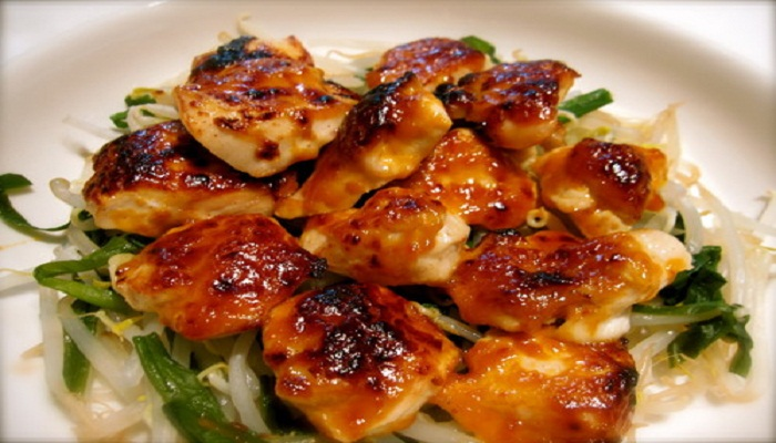 Grilled Chicken Thighs with Spicy Miso Mayo Recipe-Netmarkers