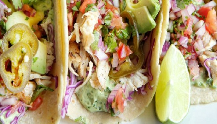 Grilled chicken tacos with avocado crema recipe-Netmarkers