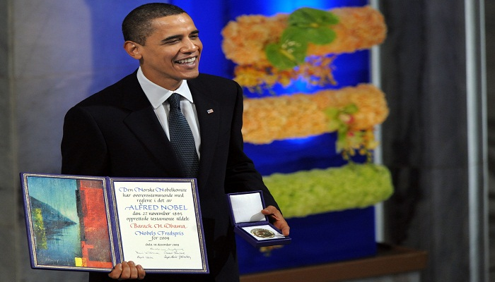Obama won nobel prize-Netmarkers
