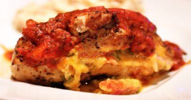 Pizza-Stuffed Chicken Recipe-Netmarkers