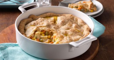 Skillet chicken pot pie Recipe-Netmarkers