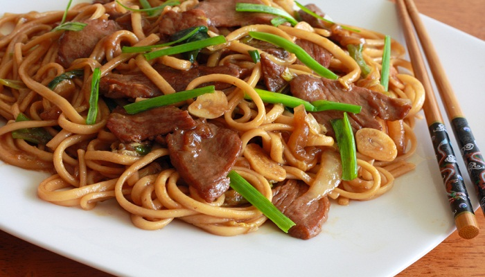 Thai Noodles and Chicken-Netmarkers