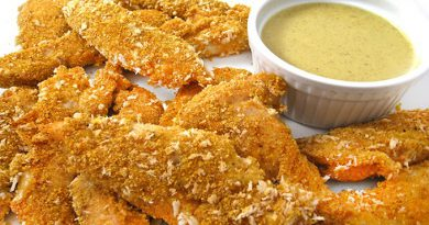 baked-chicken-fingers-with-honey-mustard-dipping-sauce-netmarkers