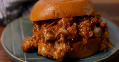 Cheesy Chicken Sloppy Joes-Netmarkers