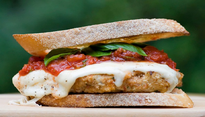 Chicken Parm Burger recipe-Netmarkers