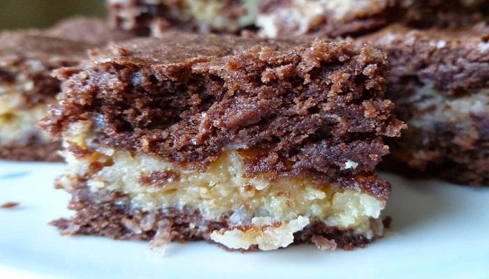 Coconut Macaroon Brownies-Netmarkers