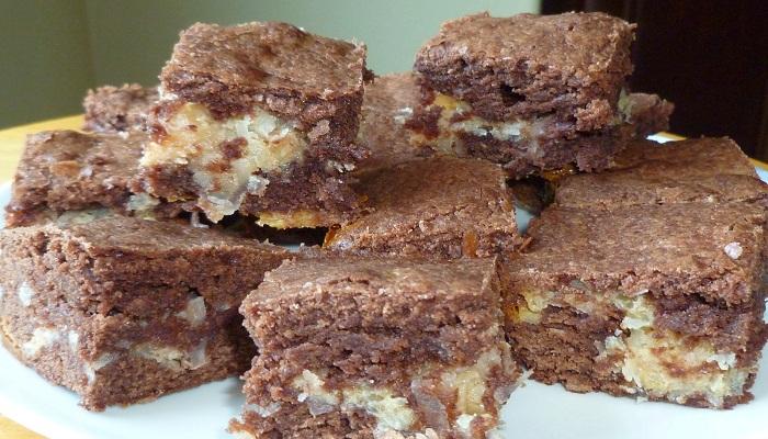 Coconut Macaroon Brownies recipe-Netmarkers