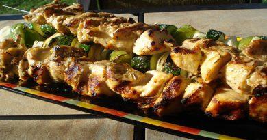 Rosemary- Lemon Chicken Kebabs Recipe-Netmarkers