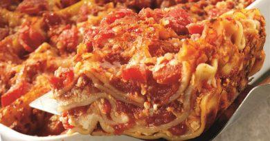 Chicken Parmesan Lasagna-Netmarkers