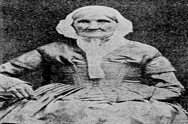 Photograph of Earliest Born Woman ever to be born-Netmarkers