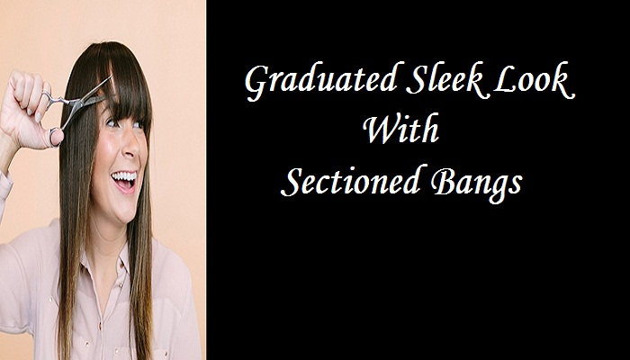 1. sectioned bangs