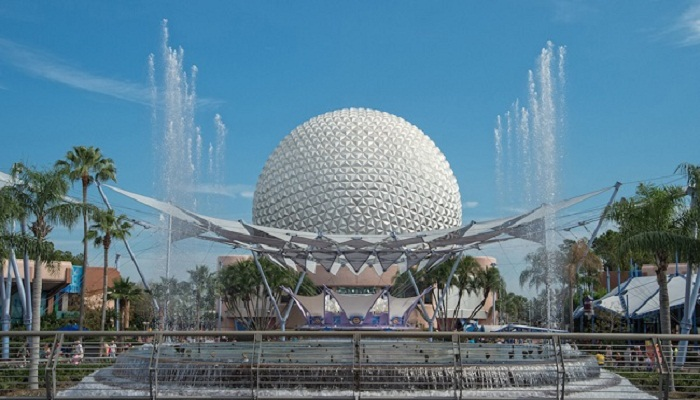 Disney's Fountain of Nations, USA netmarkers
