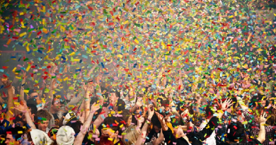 Law against Throwing Confetti-netmarkers