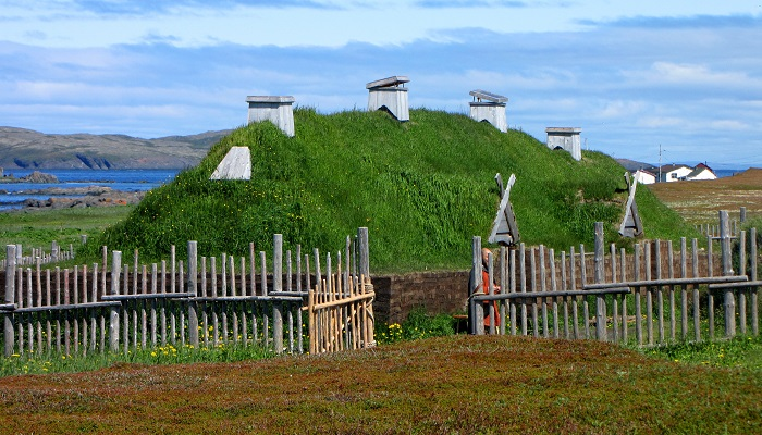 L'Anse aux Meadows netmarkers
