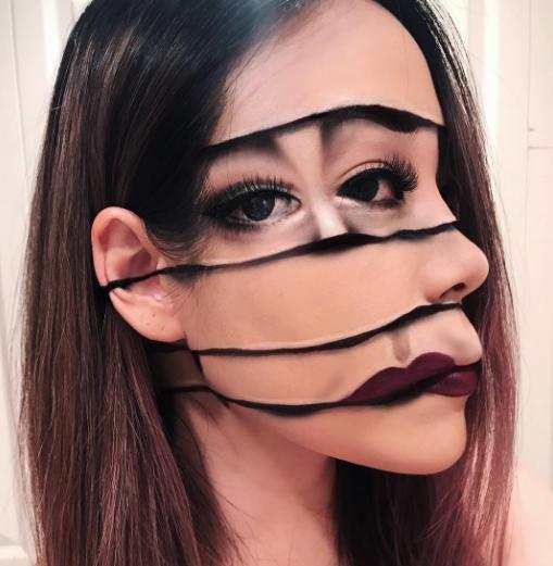 deformed face netmarkers