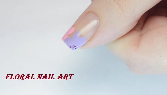 floral nail art netmarkers