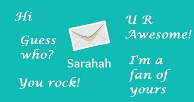 sarahah netmarkers