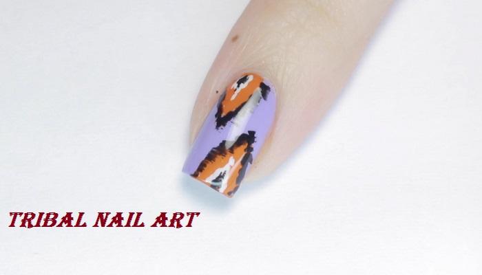 tribal nail art netmarkers