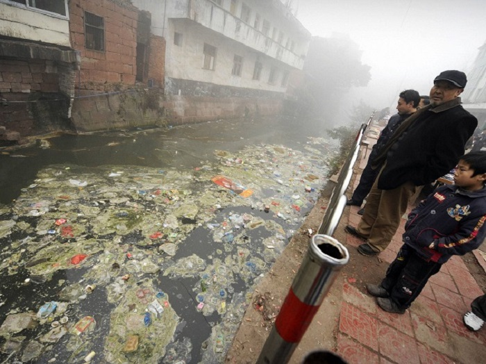 Pollution-in-China netmarkers