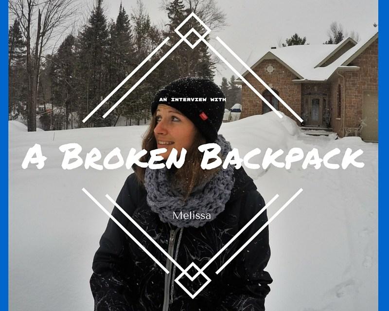 A broken Backpack