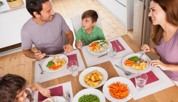Set consistent, healthy mealtimes-netmarkers