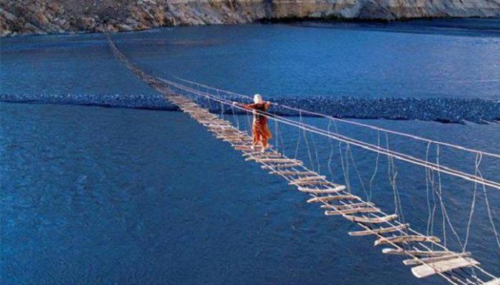 terrifying hanging bridge-netmarkers