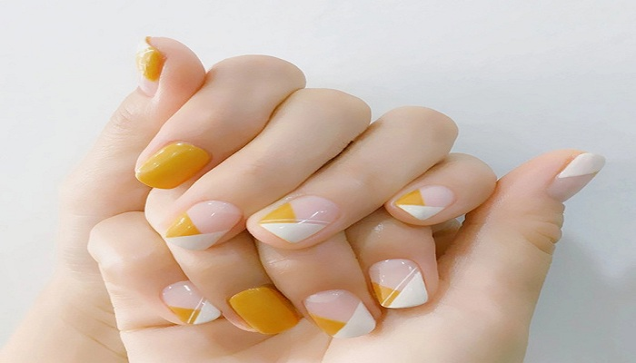 Candy yellow nail art-Netmarkers