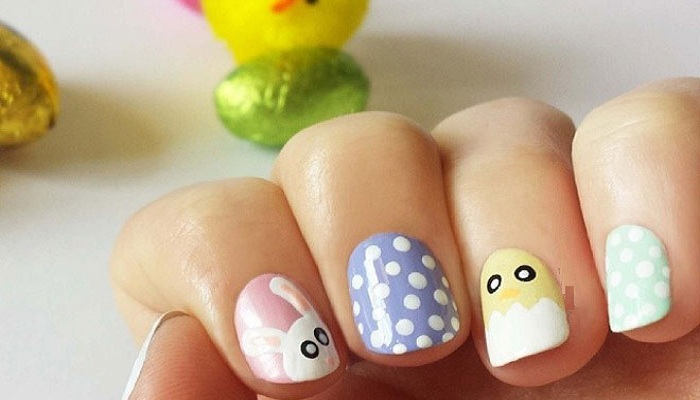 Egg or the chicken nail art-Netmarkers