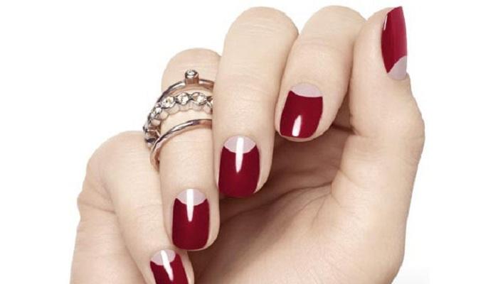 Half moon nail art-Netmarkers