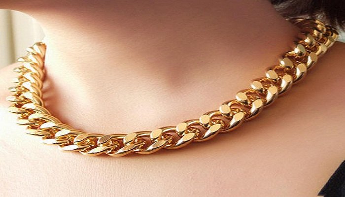 Necklaces with chunky chain-Netmarkers