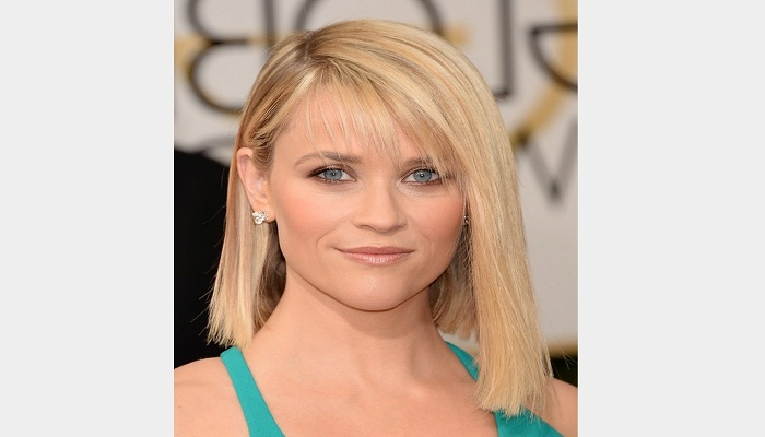 Side swept long bang with short bob for smart look-Netmarkers