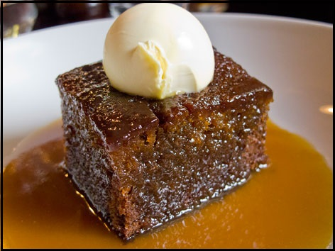 10 Traditional Food To Try In London - Sticky-Toffee-Pudding - NetMarkers
