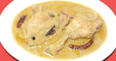 Chicken Rezala Recipe - Header - NetMarkers